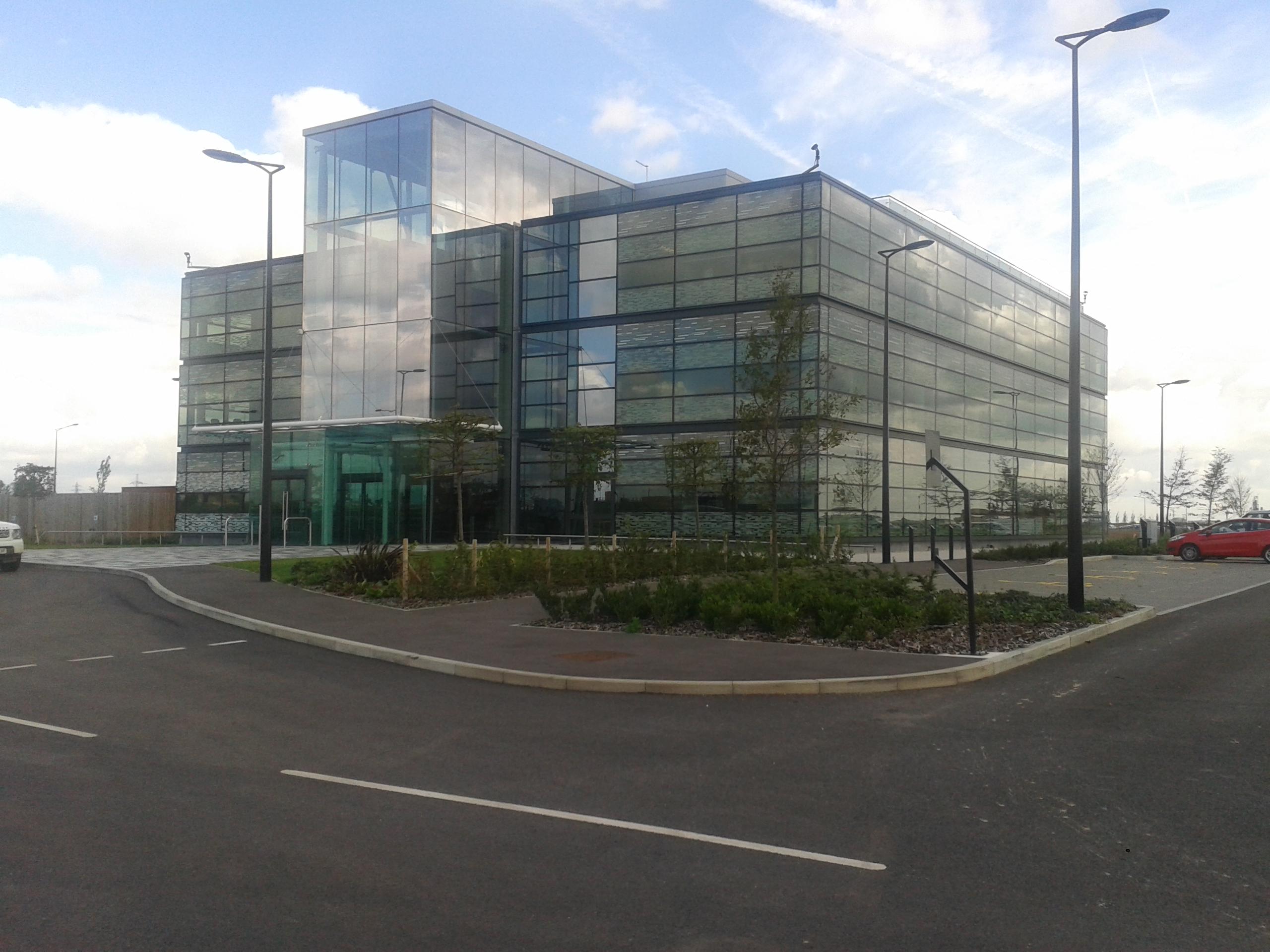 DP World London Gateway Project Admin Building